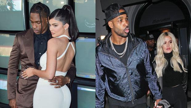 Kylie Jenner, Travis Scott, Tristan Thompson, Khloe Kardashian
