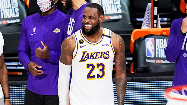 LeBron James for the Lakers
