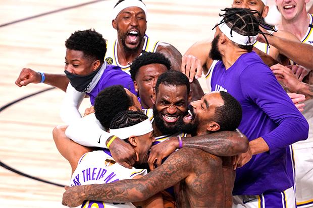 LeBron James & Lakers 2019-20 NBA Champions