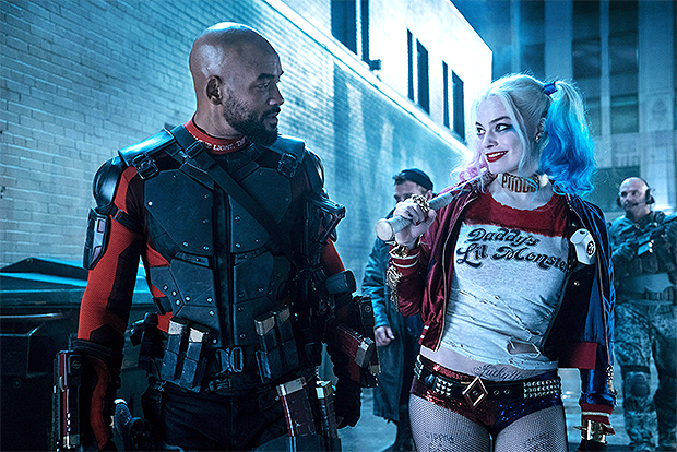 Margot Robbie & Will Smith in Suicide Squad