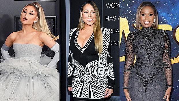 Ariana Grande, Mariah Carey and Jennifer Hudson