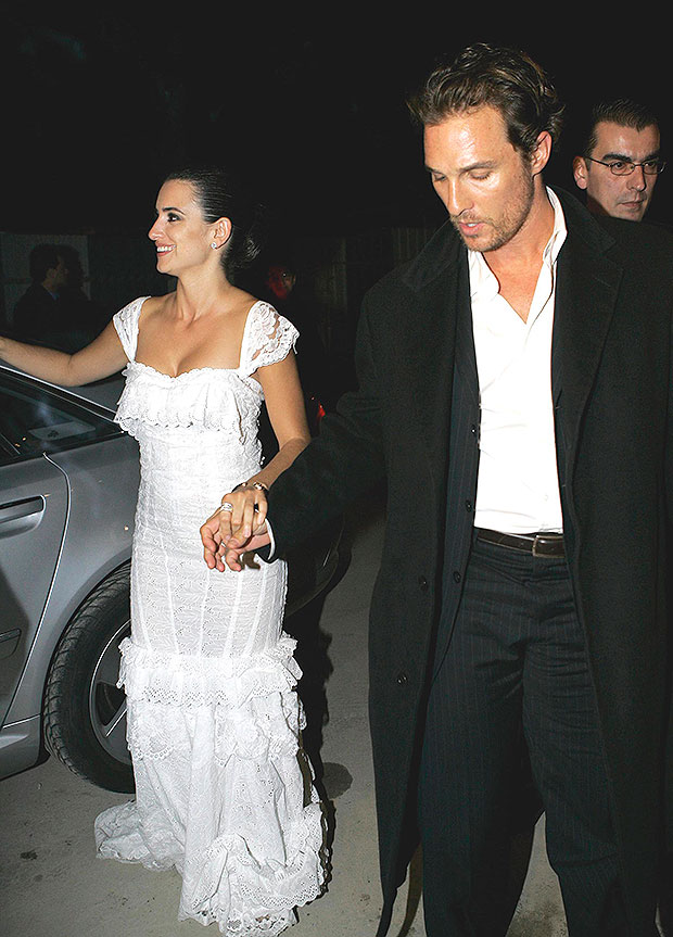 Penelope Cruz and Matthew McConaughey