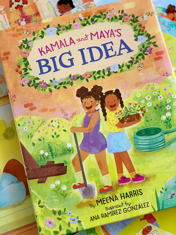 Kamala and Maya's Big Idea book