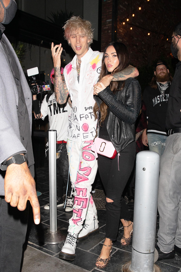 Megan Fox & Machine Gun Kelly
