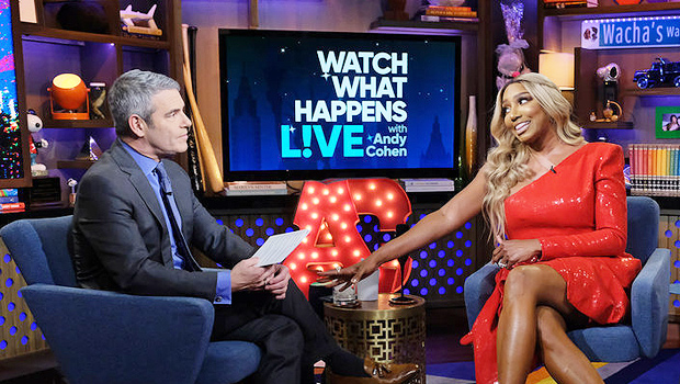 Nene Leakes on Watch What Happens Live with Andy Cohen