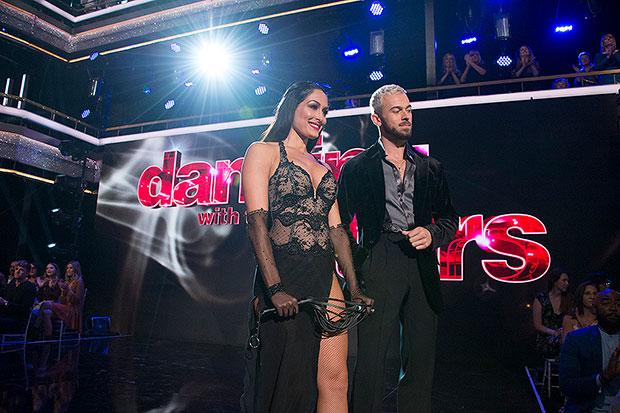 Nikki Bella and Artem Chigvintsev