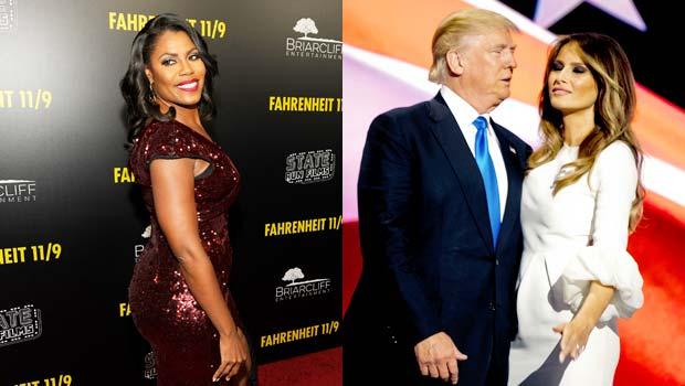 Omarosa, Donald Trump, Melania Trump