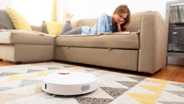 This Smart Robot Vacuum Will Do All The Work For You & It's On Sale For Less Than Half The Price Of A Roomba