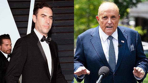 Sacha Baron Cohen & Rudy Giuliani