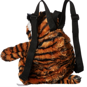 Plush Tiger Backpack