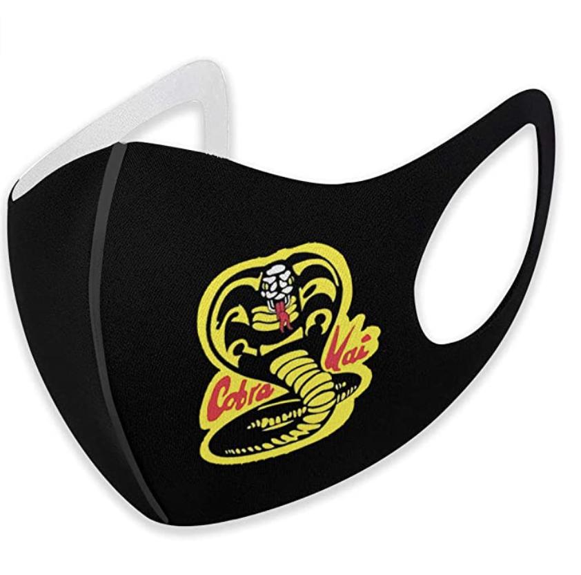 Cobra Kai face mask