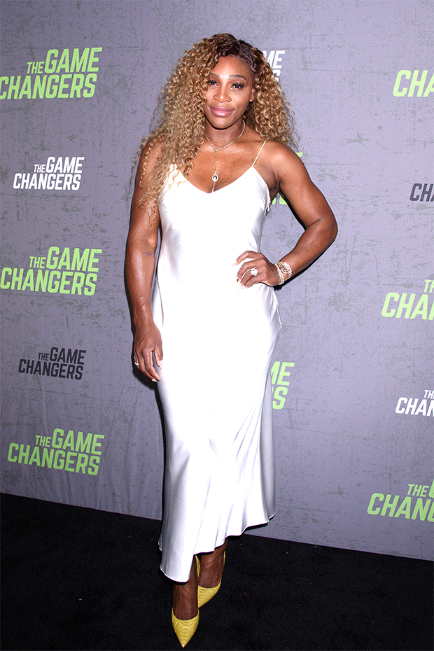 Serena Williams on the red carpet