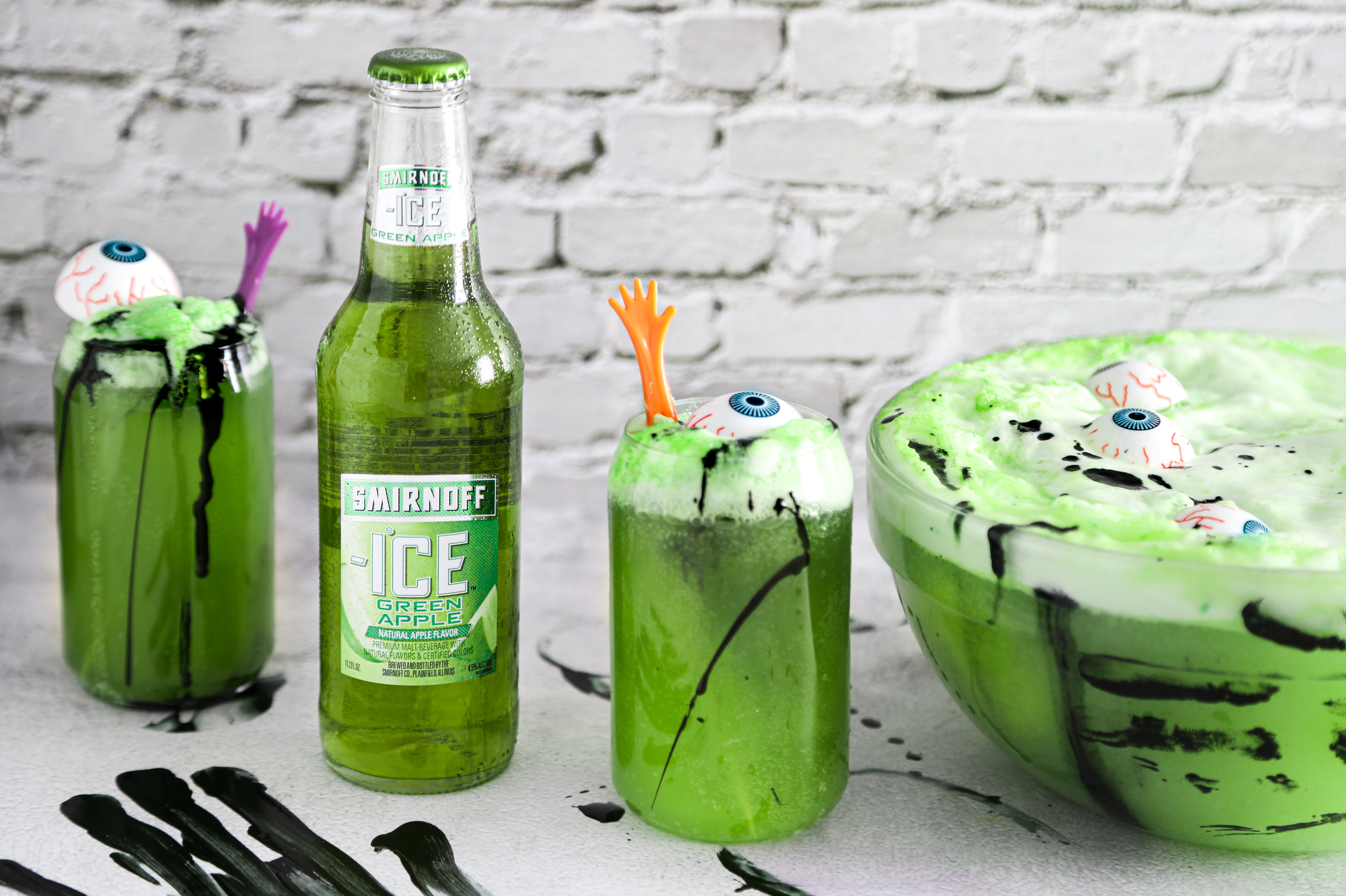 Green Zombie Punch