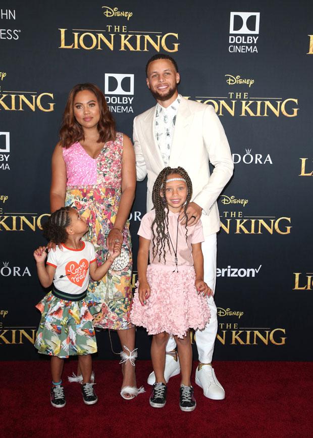 Steph Curry, Ayesha Curry, Kids
