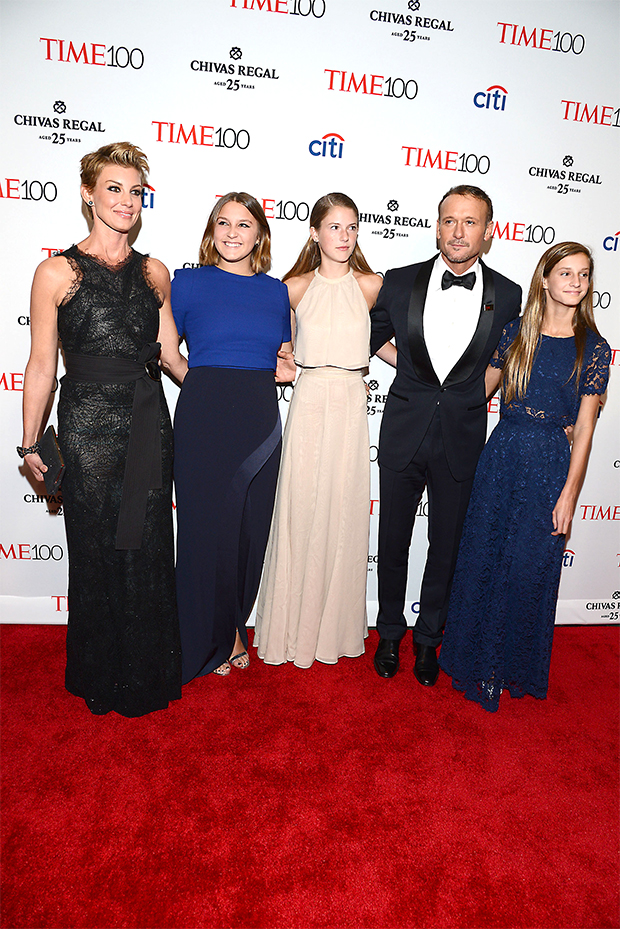 Faith Hill and Tim McGraw's Family