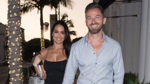 Artem Chigvintsev & Nikki Bella's Son Matteo Smiles After His Dad's First 'DWTS' Win
