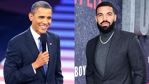 Barack Obama and Drake