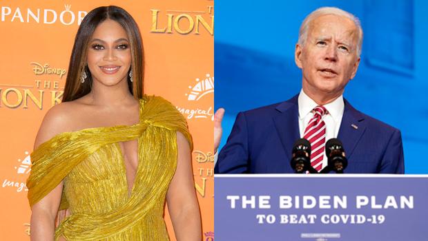 Beyonce Joe Biden