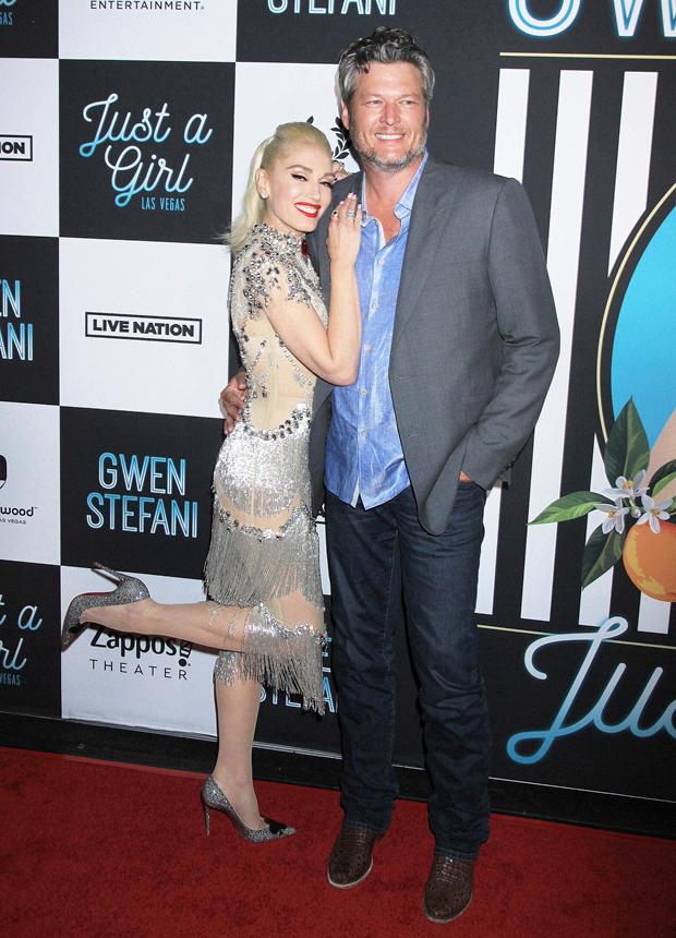 Blake Shelton Gwen Stefani wedding date