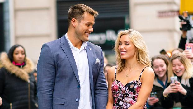 Colton Underwood & Cassie Randolph in NYC