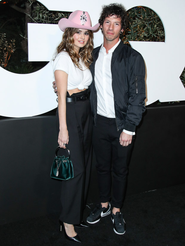WEST HOLLYWOOD, LOS ANGELES, CALIFORNIA, USA - DECEMBER 05: 2019 GQ Men Of The Year Party held at The West Hollywood EDITION Hotel on December 5, 2019 in West Hollywood, Los Angeles, California, United States. 05 Dec 2019 Pictured: Debby Ryan, Josh Dun. Photo credit: Xavier Collin/Image Press Agency / MEGA TheMegaAgency.com  1 888 505 6342 (Mega Agency TagID: MEGA562820_080.jpg) [Photo via Mega Agency]