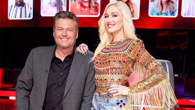 Blake Shelton Proudly Calls Gwen Stefani His 'Fiancée' On 'The Voice' As She Shows Off Her Massive Ring
