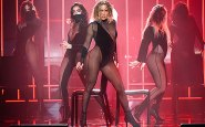 JLo stuns in sizzling see-through outfit for racy American