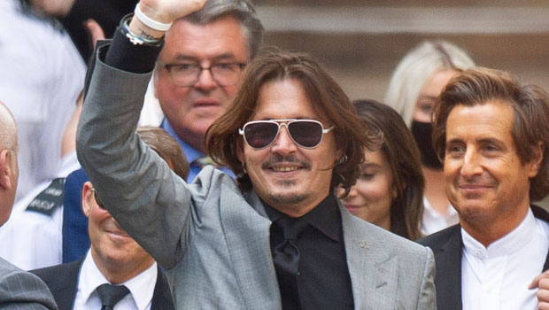 Johnny Depp Smiles Behind Bars For Film Festival In First Public Pic Since Losing Libel Suit & 'Harry Potter' Role