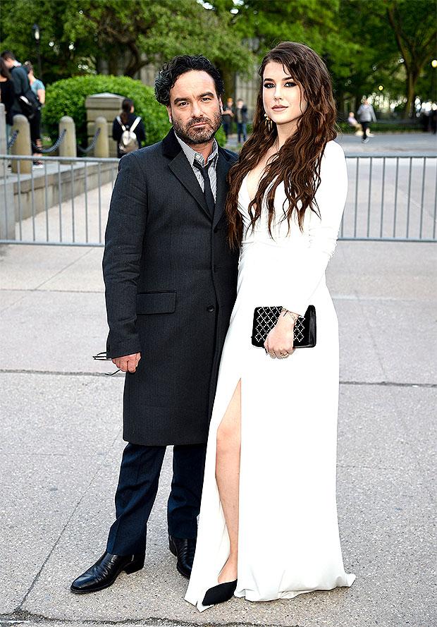 Johnny Galecki & Alaina Meyer