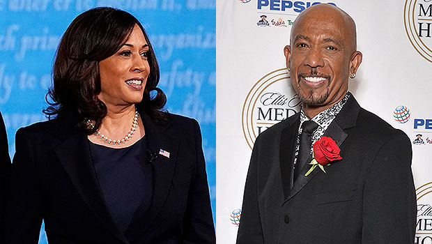 Kamala Harris Once Dated Talk Show Host Montel Williams & Fans Freak Over Old Photos