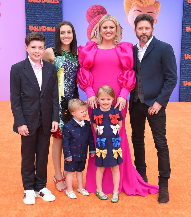 Kelly Clarkson, Brandon Blackstock, Kids