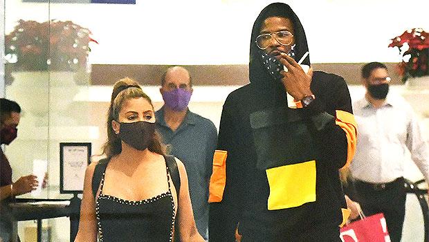 Larsa Pippen & mystery man in Miami