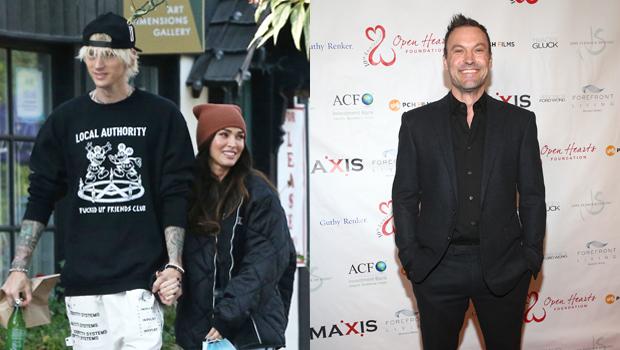 Machine Gun Kelly, Megan Fox, Brian Austin Green