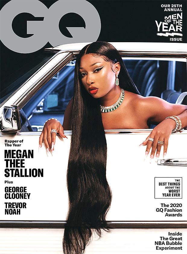 Megan Thee Stallion 'GQ' 'MOTY' 2020 Issue