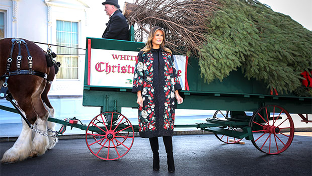 Melania Trump Shows Off Lavish White House Christmas Decor After Blasting Tradition In Secret Recording