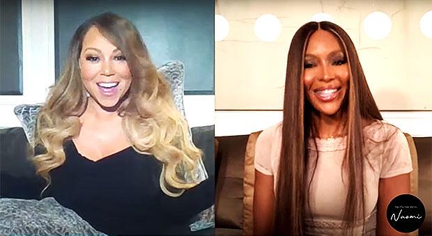 Mariah Carey, Naomi Campbell