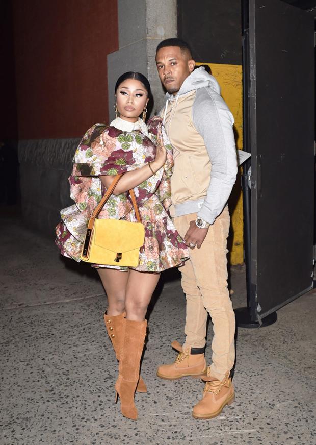 Nicki Minaj et Kenneth Petty