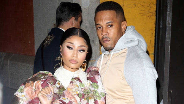 Nicki Minaj PDAs With Kenneth Petty In First Pics Together Since Welcoming Baby Boy