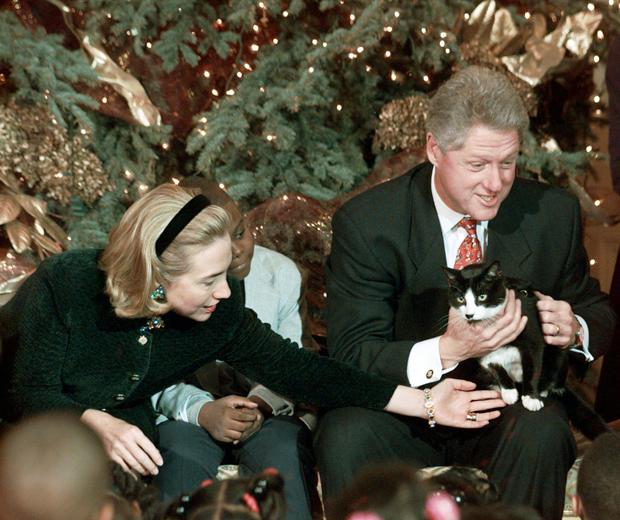 Bill and Hillary Clinton