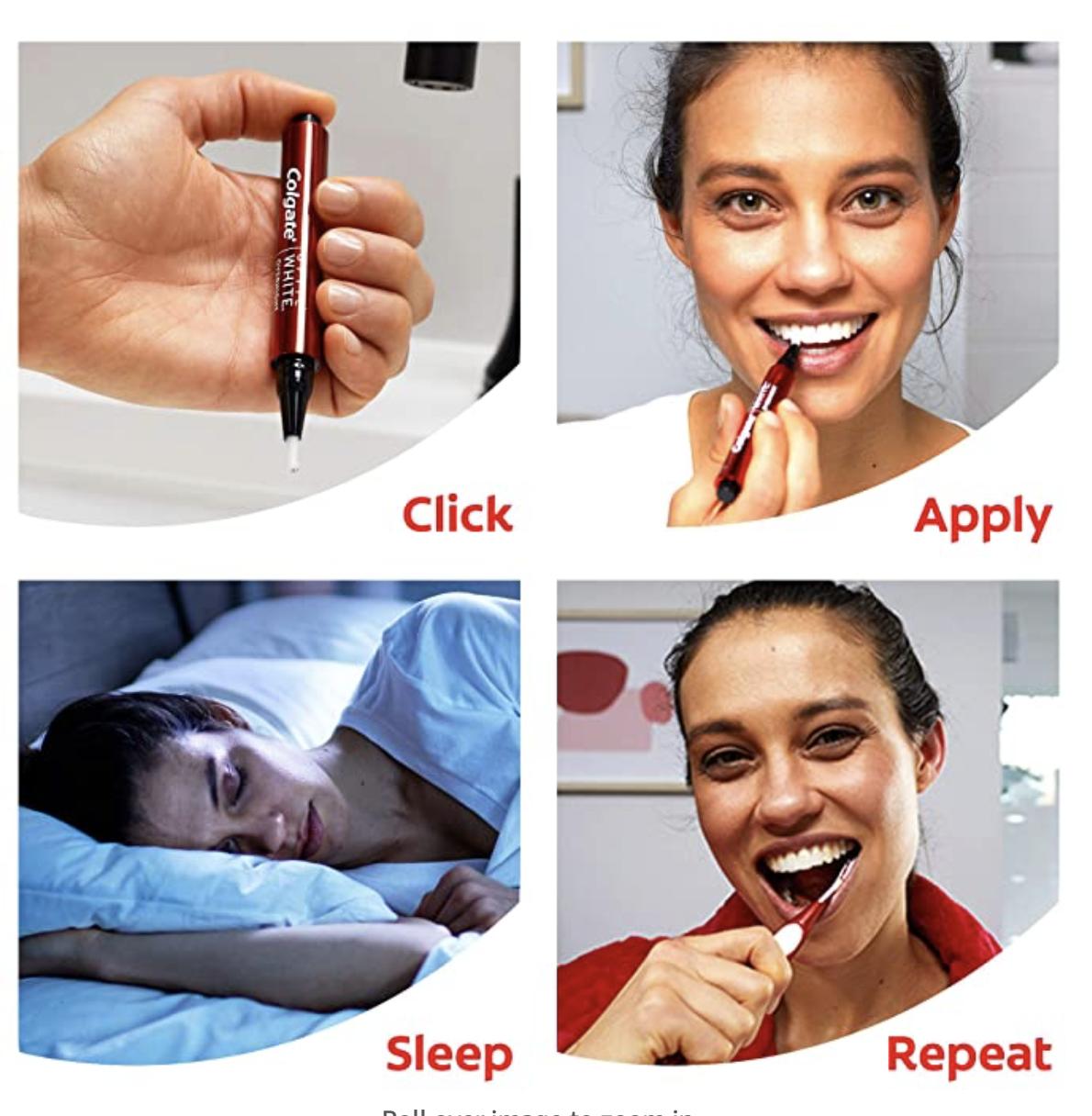 Colgate teeth whitening pen