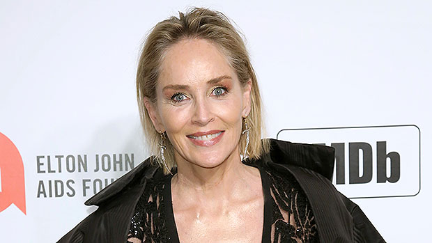 Sharon Stone Slays In Black Bodysuit & Admits She's 'Astounded' To Be 'Modeling At 62'