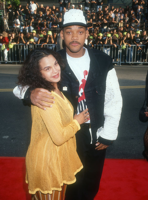 Sheree Zampino and Will Smith