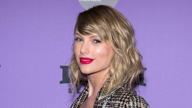 Taylor Swift Straightens 'Folklore' Era Curls & Fans Think It's An Easter Egg — Watch