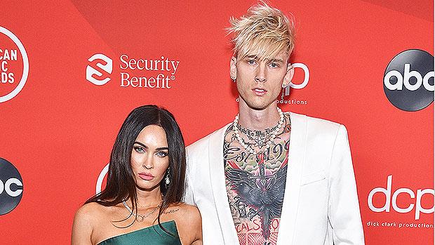 Megan Fox & MGK Make Red Carpet Debut As A Couple At AMAs — See Pic