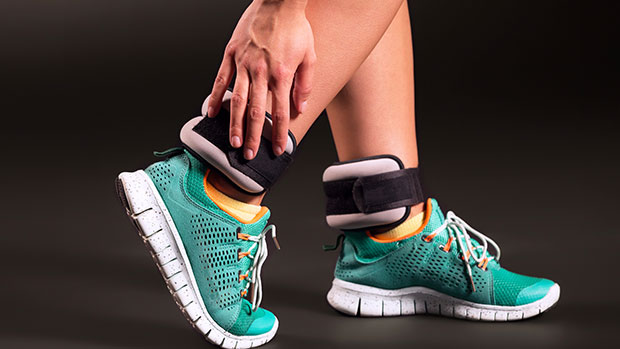 Get In Shape In Your Own Home With These Ankle Weights That Are 33% Off & Have Over 4,000 Reviews