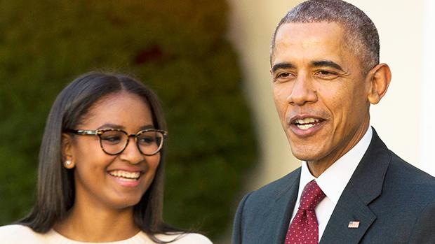 Barack Obama Admits He's 'Scared' Of Daughter Sasha, 19: She's A 'Mini  Michelle'