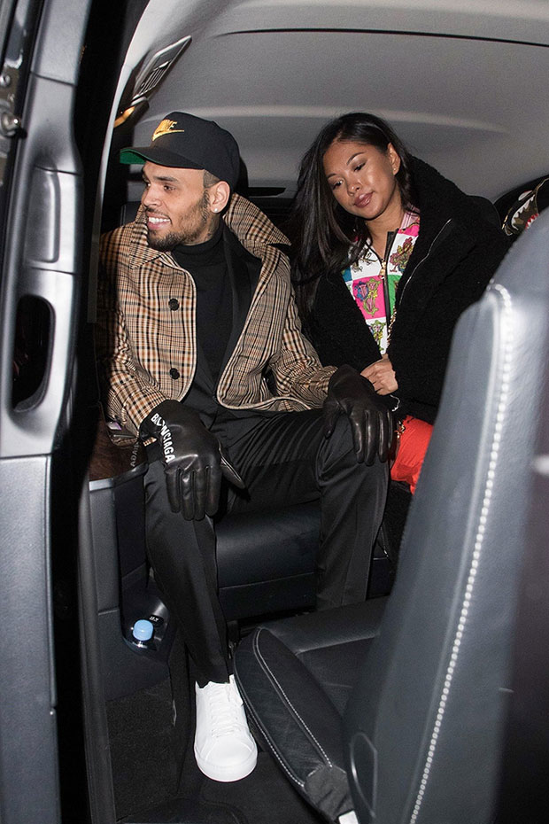Chris Brown Ammika Harris