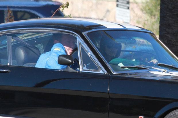 Chris Martin et Dakota Johnson