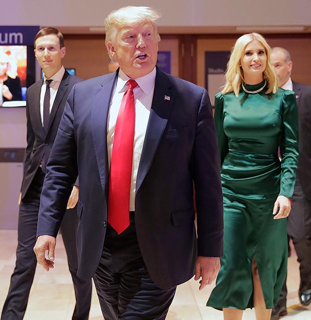 Donald Trump Ivanka Trump Jared Kushner