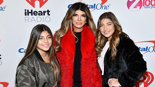 Teresa Giudice with daughters Gia & Milania